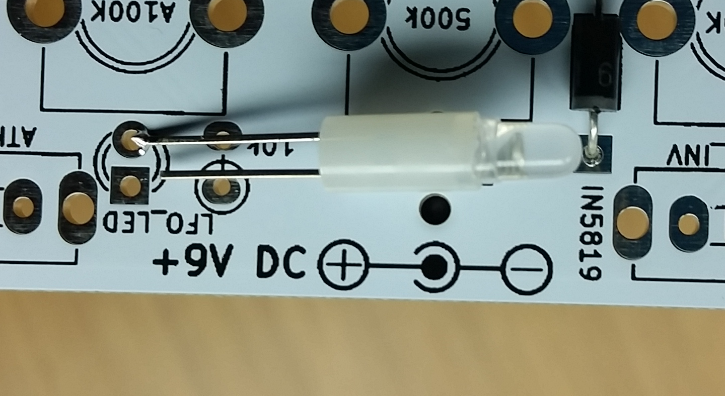Drum Instructions - LED Polarity